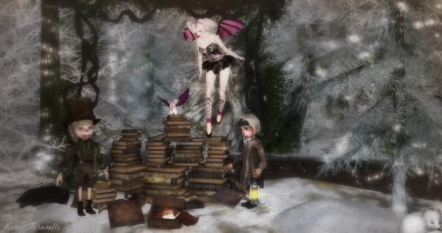 Lost in the Books