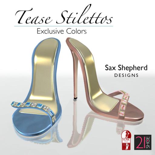 SSD 21Shoe Jan 2015 Tease Stilettos EXCLUSIVE