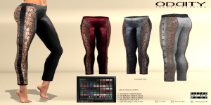 ! ODDITY Pants -TheEnd- Leather Lace [150708W]