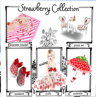 Strawberry gacha