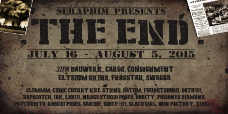 THE END - JULY POSTER