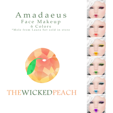 Wicked Peach _ Cosmetic Ad Amadaeus