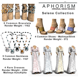 !APHORISM! Selene Collection Key