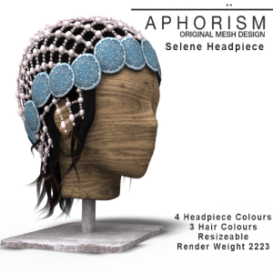 !APHORISM! Selene Headpiece