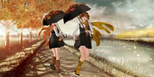 Bauhaus Movement - Yuka Umbrella AD