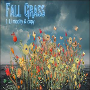 Boudoir fall grass