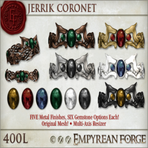 Empyrean Forge_ Jerrick Coronet - Ad
