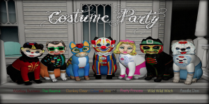 KittyCatS! Creepy Collection 2015 - CostumeParty - Names