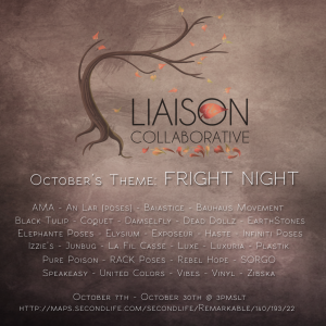 The Liaison Collaborative - October - Fright Night