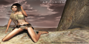 !APHORISM! Princess Of Nowhere Ad