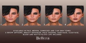 -Belleza- Jamie Uber Makeup Chart