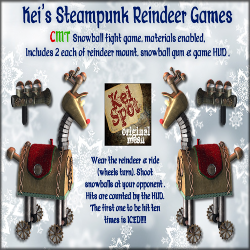 Kei's Steampunk Reindeer Games - Boxed