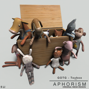 !APHORISM! Toybox - GOTG