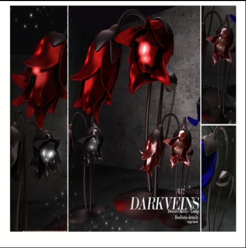 Ariskea dark Vein Lamps