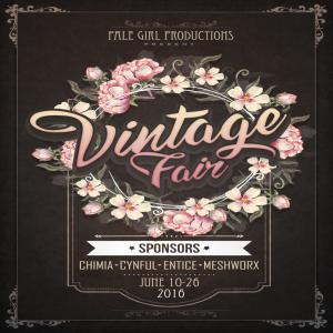 Vintage Fair 2016 Poster