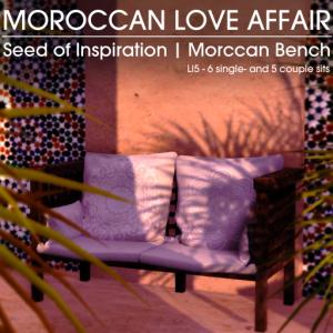 22769 ~ [bauwerk] Moroccan Bench - SOI [ad]