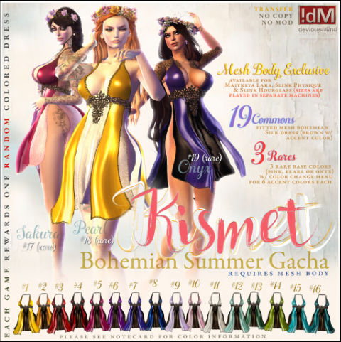 dM Kismet dress