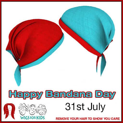 Happy Bandana Day - July 31st 2016