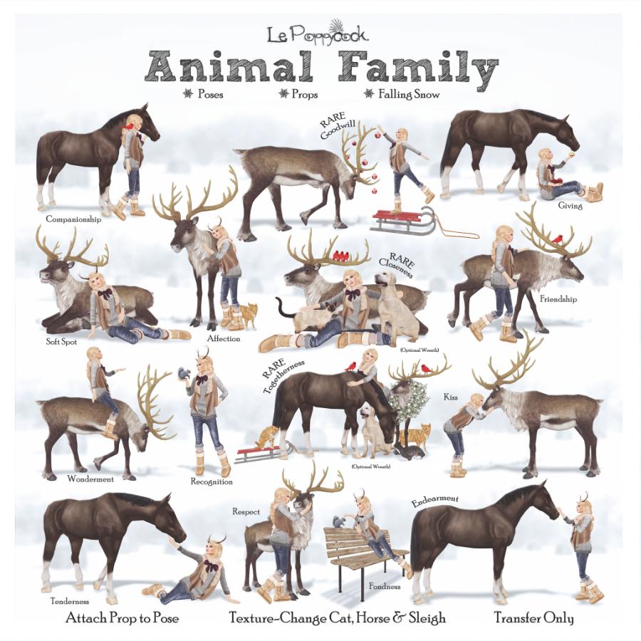le-poppycock-_animal-family_-key