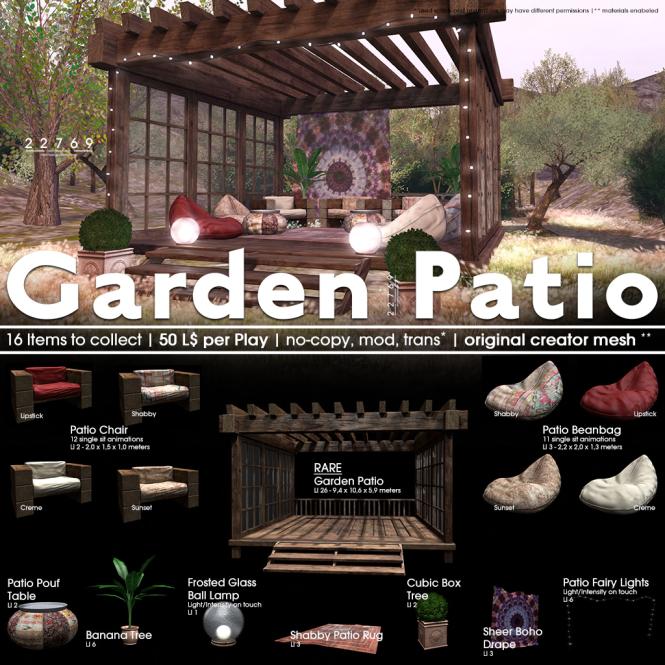 22769 - Garden Patio [ad]