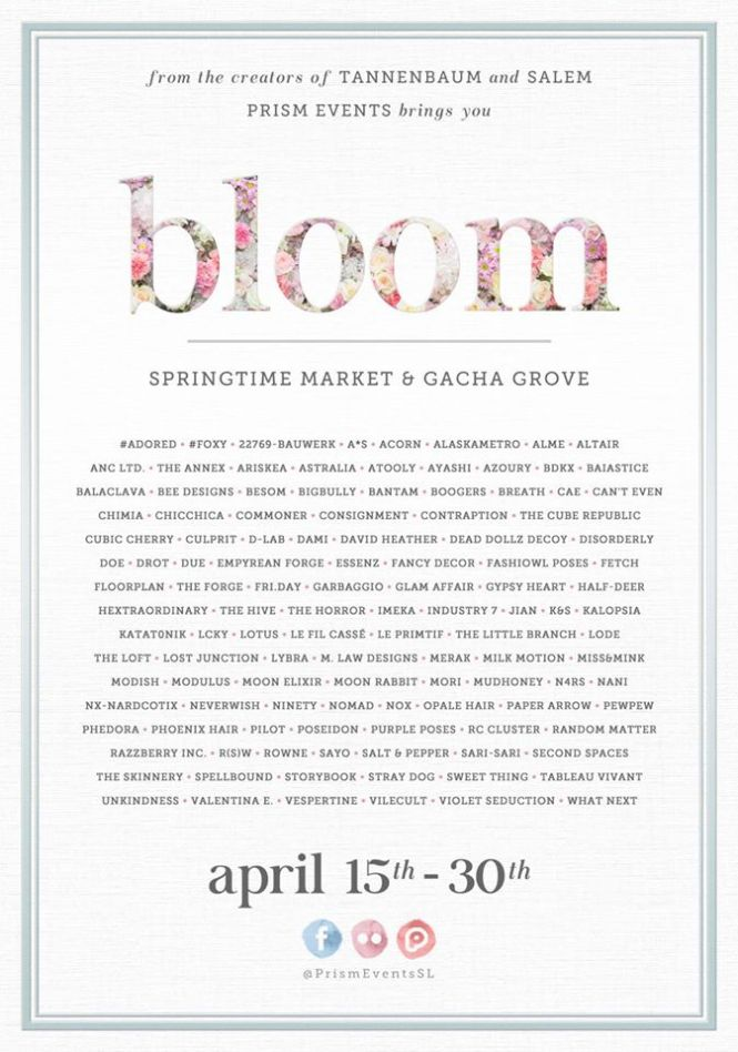 bloom poster