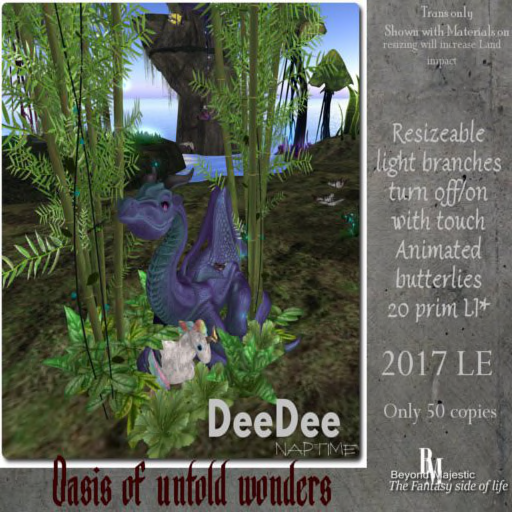BM LE Oasis of untold wonders Naptime DeeDee