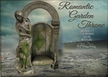 boudoir romantic garden throne