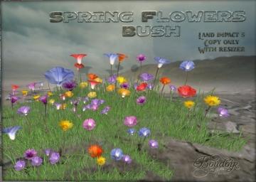 boudoir spring flowers bush