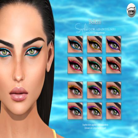 Belleza- Sophie Summerfest Colour Liners AD
