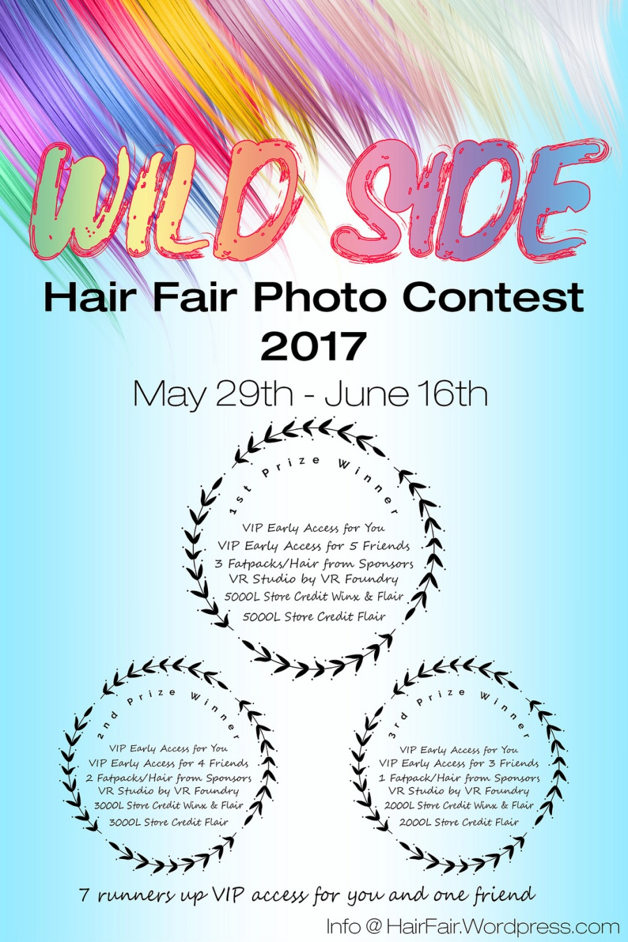 Hair Fair Photo Contest 2017