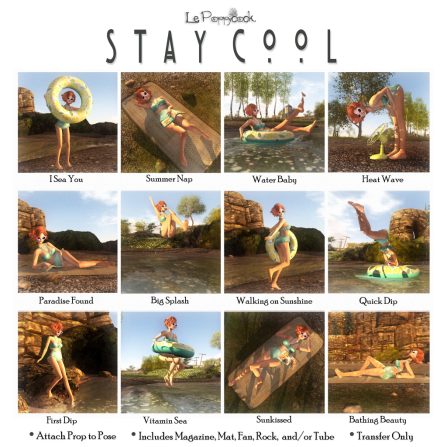Le Poppycock _Stay Cool_ Gacha Key