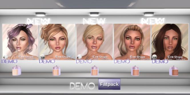 ND_MD Eve skins + shapes!