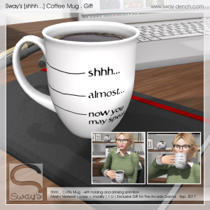 Sway's [shhh...] Coffee Mug - GIFT (1024)