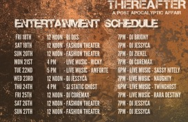 thereafter entertainment schedule