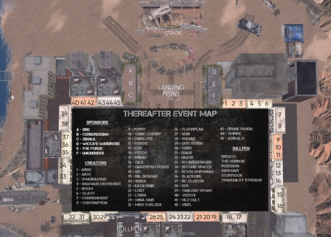 thereafter event map