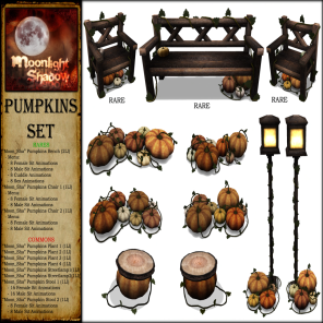 _Moon_Sha_ Pumpkins Set Key PIC