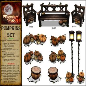 _Moon_Sha_ Pumpkins Set Key PIC