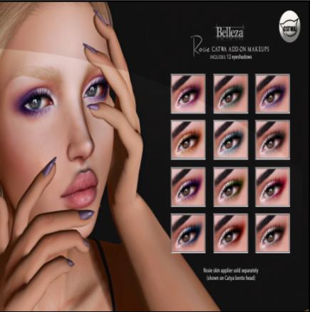rosie eyeshadows