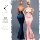 Kaithleen's Snow Dress Poster SL