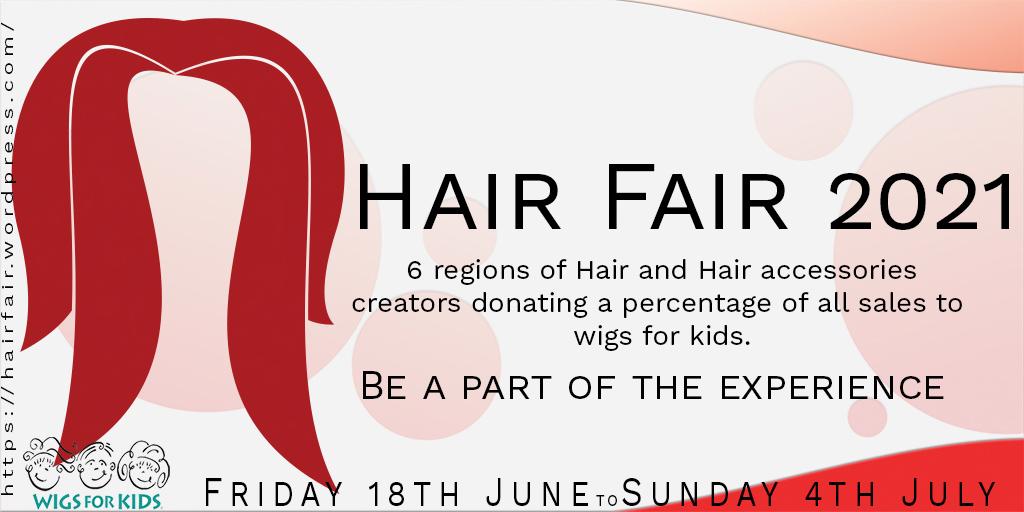 Hair Fair 2021 Promo Poster